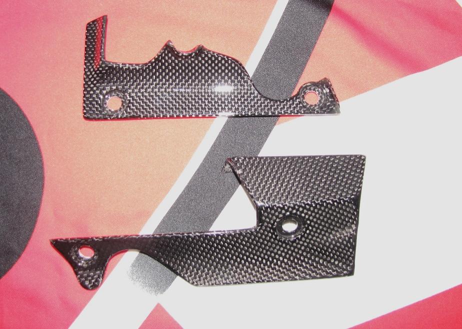 Für Ducati XDiavel Echt MH Carbon fein Seitenteile