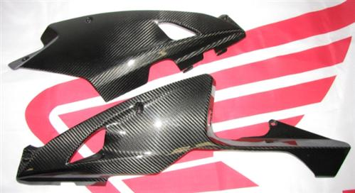 Passend für Honda CBR 08 SC59 SC 59 2013 Facelift Carbon BUG Verkleidung