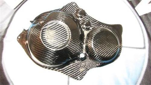 Passend für Honda CBR Fireblade 2008 SC59 Carbon Motordeckel V2