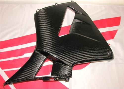 Passend für Honda CBR 600 PC37 05-06 Echt Carbon Seitenverkleidung