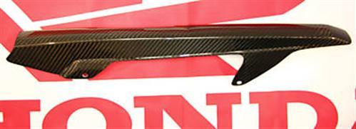 Honda Hornet 600 07 2007 Echt Carbon Kettenschutz