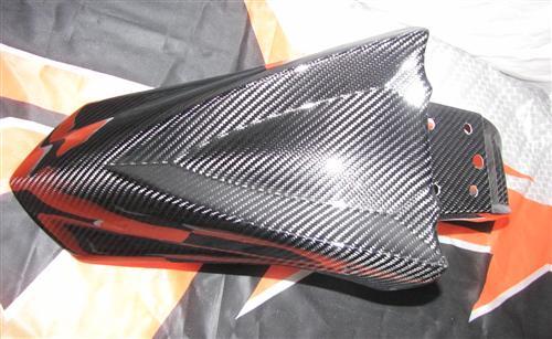 KTM 950 SM 07-10 Echt Carbon Kotflügel Sonderedition