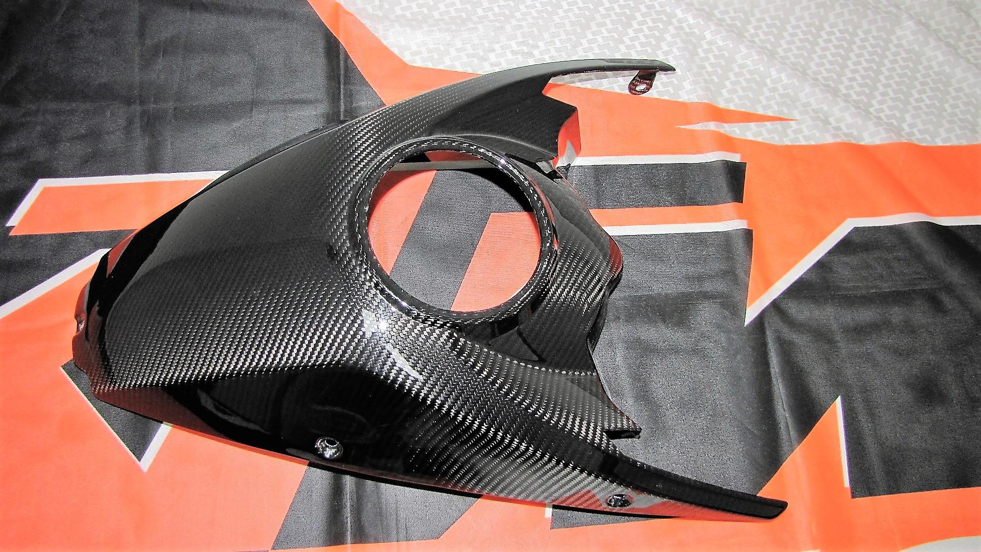 Passend für Passend für KTM 1290 Echt Carbon Tank Verkleidung Tank Cover Superadventure