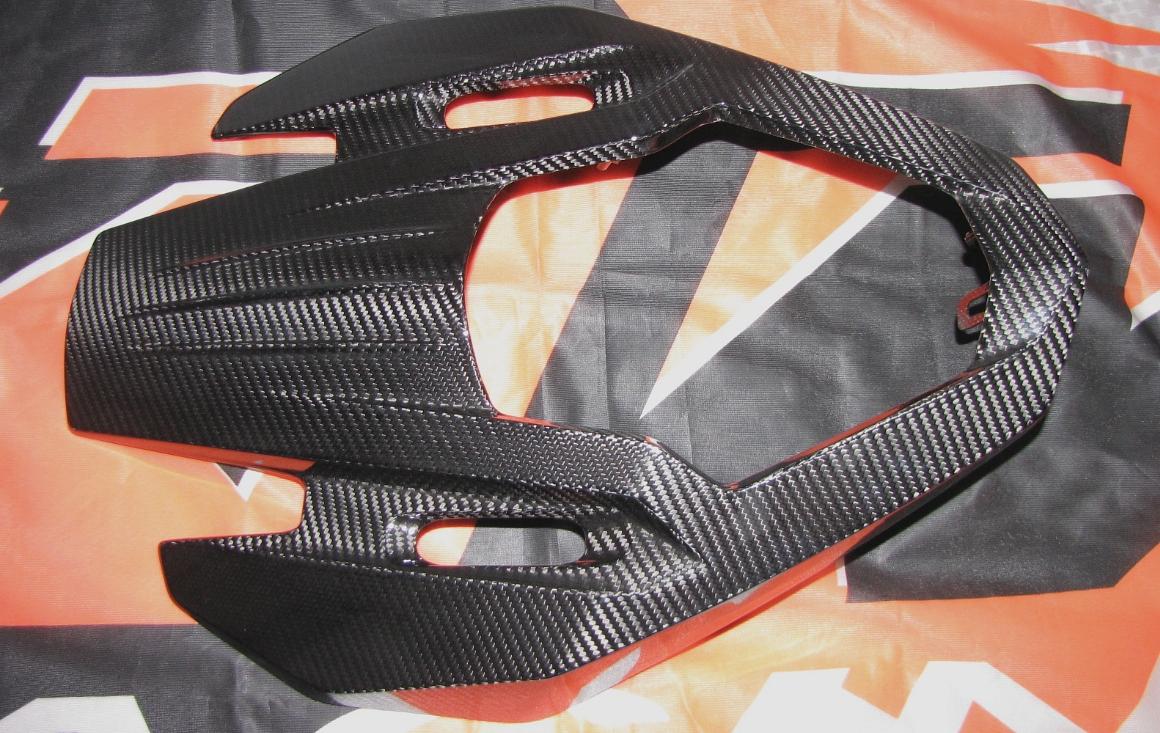 Passend für Passend für KTM 1290 Echt Carbon Maske Kanzel Super-Adventure