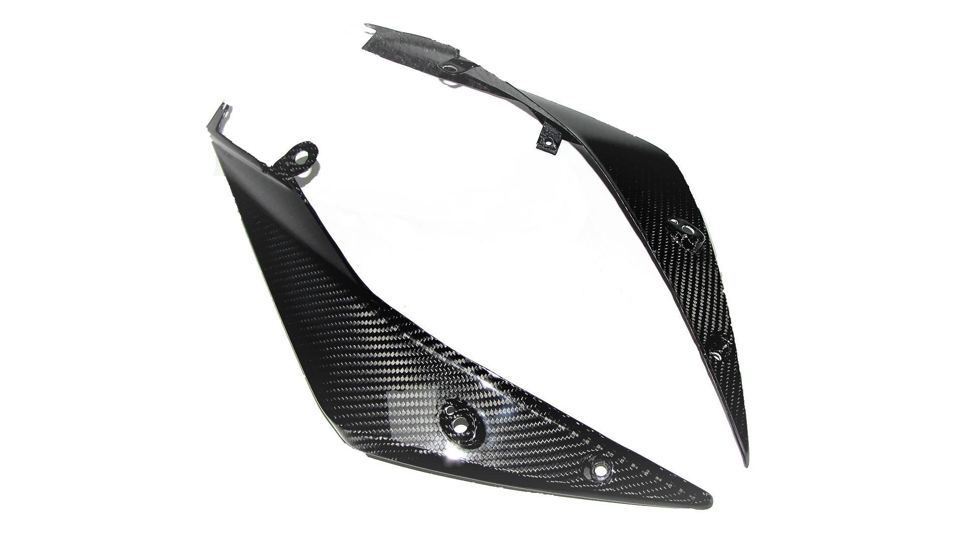 Passend für Passend für KTM 1290 Carbon Kanzel Seiten Verkleidung unten Super-Adventure ab2015