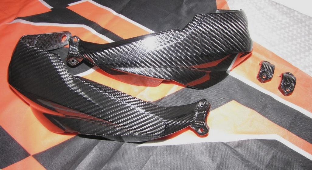 Passend für Passend für KTM 1290 1090 R Carbon Handprotektoren Hand Schutz Super-Adventure S