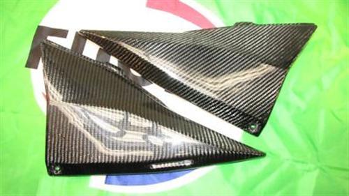 Für Kawasaki Z1000 04-06 Z750 Echt Carbon Seitenteile  Sitzbank