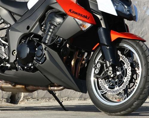 Passend für Kawasaki Z1000 2010-11 Echt Carbon Bug Verkleidung