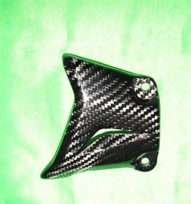 Passend für Kawasaki Z1000 2010-11 Echt Carbon Rahmen Seitlabdeckug