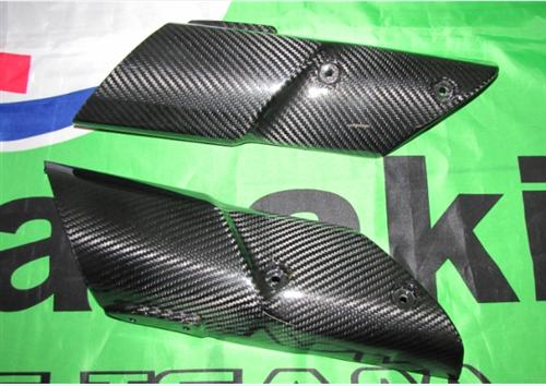 Passend für Kawasaki Z1000 2010-11 Carbon Gabel Abdeckung Kotflügel
