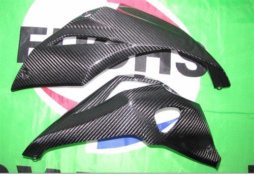 Passend für Kawasaki Z1000 2014 Echt Carbon BUG Verkleidung