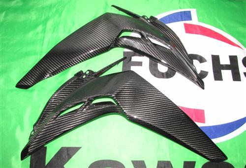 Passend für Kawasaki Z1000 2014 Echt Carbon Seitenverkleidung Verkleidung