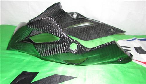 Passend für Kawasaki Z1000 2014 Echt Carbon BUG Verkleidung Belly Pan