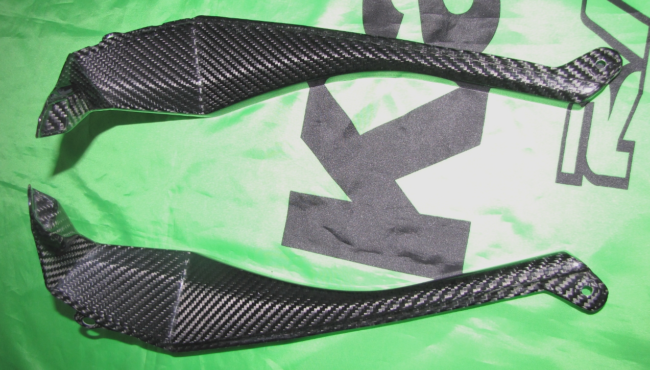 Für Kawasaki ZX10-R Carbon Verkleidung Cockpit Abdeckung ab 2010