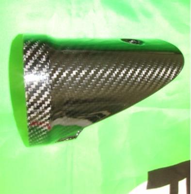 Für Kawasaki ZX10-R Carbon Auspuff Krümmer Abdeckung  2010