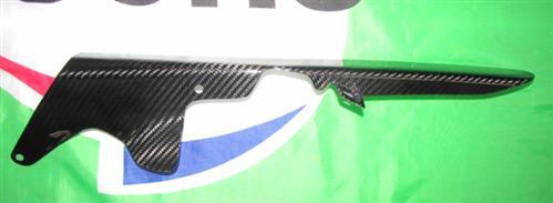 Für Kawasaki ZX10-R Carbon Fersenschutz Kettenschutz Kette ab 2011