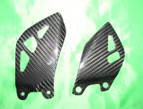 Für Kawasaki ZX10-R Carbon Fersenschutz Fersenschützer  ab 2011