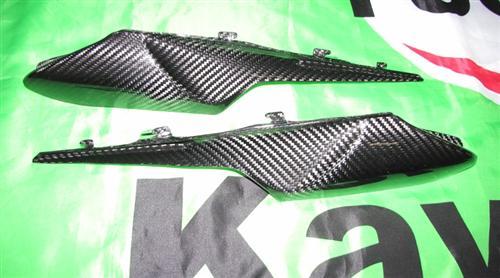 Für Kawasaki ZX10-R ZX10R Carbon Heck Seiten Heckverkleidung Verkleidung ab 2011