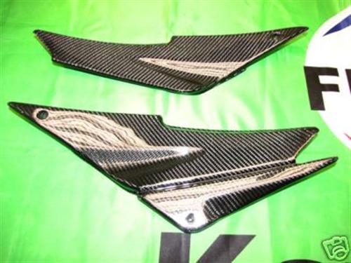 Für Kawasaki ZX-6R CarbonSeitenteile unter dem Sitz 2005 2006 05-06