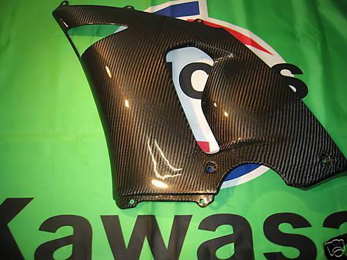 Passend für Kawasaki ZX-6R Echt Carbon Verkleidung mitte 05-06