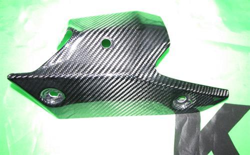 Passend für Kawasaki ZX6-R 2013  Echt Carbon Hitzeschutz Auspuff