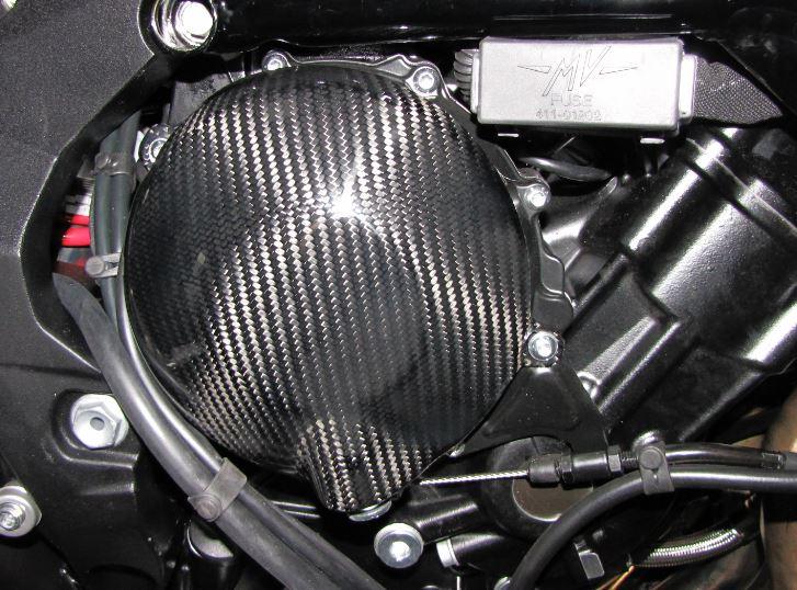 Passend für MV Agusta Rivale Brutale Dragster 800 RR Carbon Kevlar Kupplung Schutz