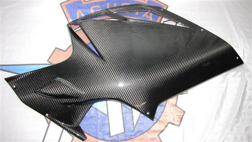 Passend für MV Agusta F4 1000 RR Echt Carbon Seiten Verkleidung 2010