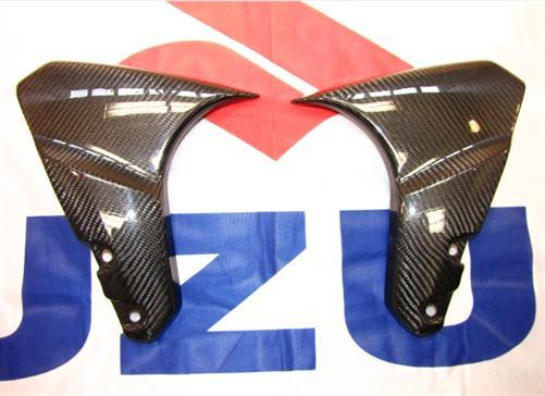 Passend für Suzuki B-King Echt Carbon Kotflügel Seitenteile NEU **