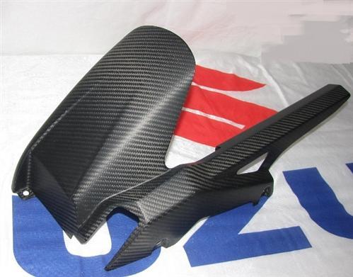 Für Suzuki GSR750 GSR 750 Carbon Matt Hinterradabdeckung u Ketenschutz
