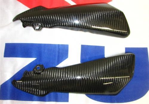 Für Suzuki GSR750 GSR 750 Carbon Seitliche Verkleidung Kühler oben