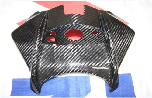 Passend für Suzuki GSR750 GSR 750 Carbon Zündschlossabdeckung