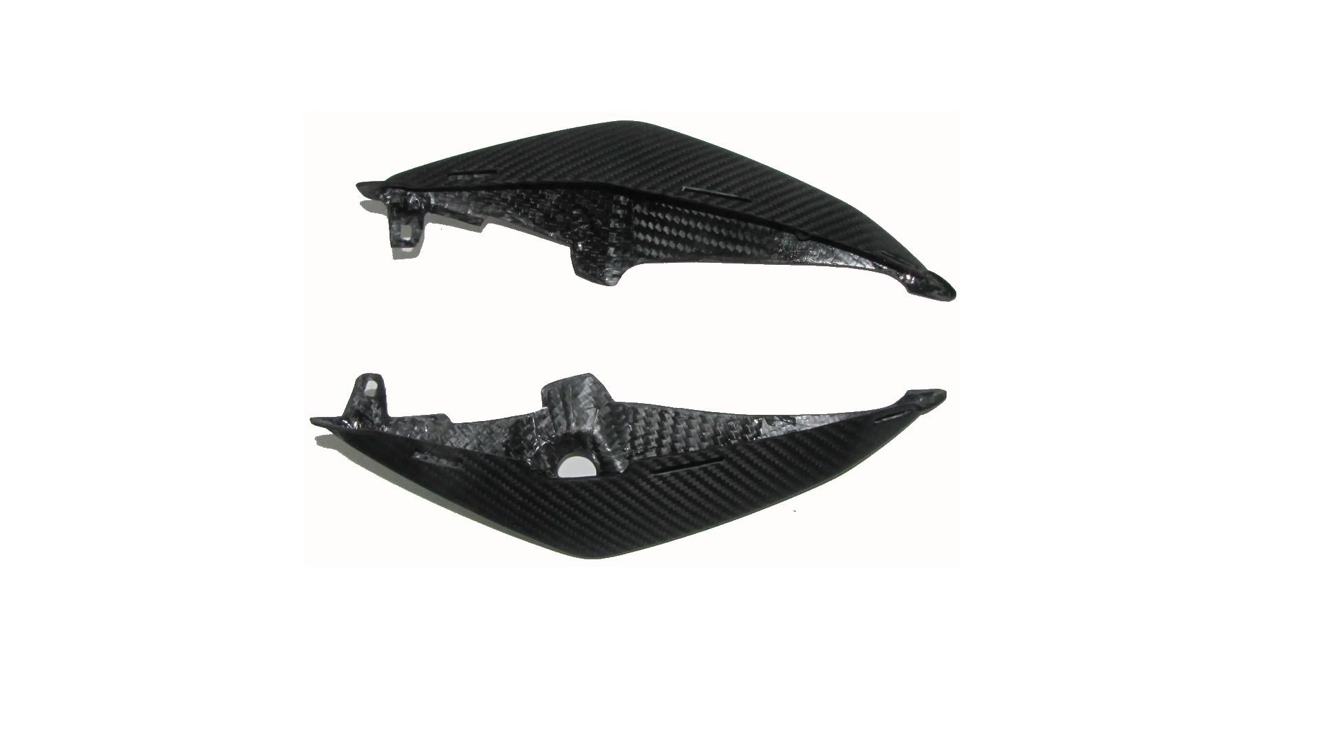 Für Suzuki GSR750 GSR 750 Carbon Heck Verkleidung Matt Seite