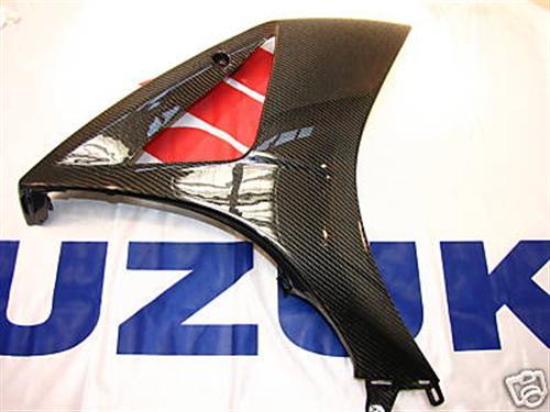 Für Suzuki Echt Carbon Seiten Verkleidung  K7 K8 GSX-1000
