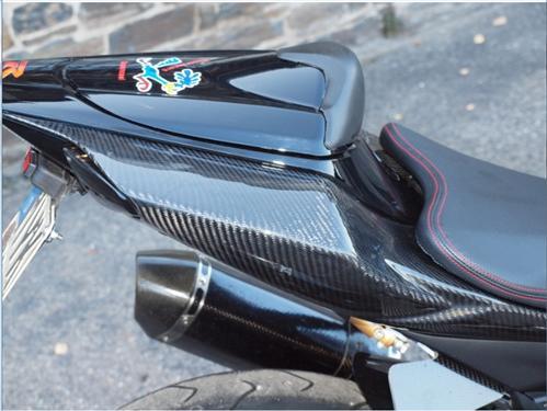 Passend für Suzuki Carbon Heck Seiten Verkleidung GSX-R 1000 K7 K8