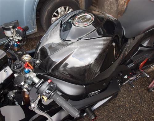 Für Suzuki Echt Carbon Tankabdeckung GSX-R 1000 K7 2007-2008 NEU