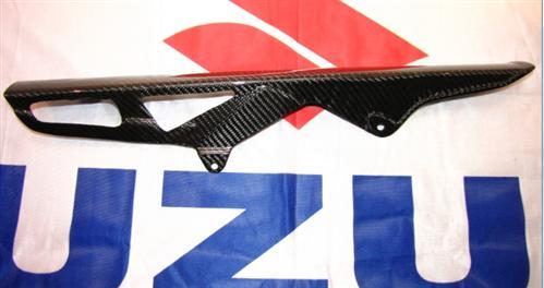 Passend für Suzuki Echt Carbon Kettenschutz  GSX-R 1000 K7 K8