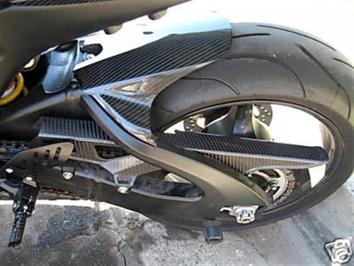 Für Suzuki Carbon Hinterradabdeckung GSX-R600 750 K6 K7 K8 V2