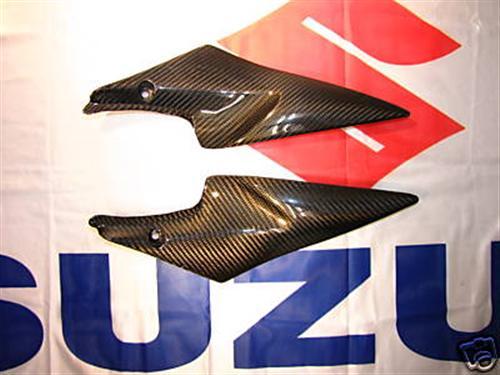 Passend für Suzuki Echt Carbon Tank Seitenteile GSX-R600 750 K6 K7