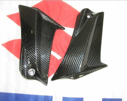 Passend für Suzuki Echt Carbon Rahmen Abdeckung GSX-R600 750 L1 L2