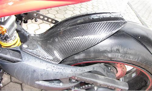 Passend für Triumph Speed Triple 1050 2011 Carbon Hinterradabdeckung Hinterrad