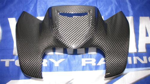 Für Yamaha Fazer FZ8 2011 RN25 ECHT Carbon Tank Abdeckung vorne