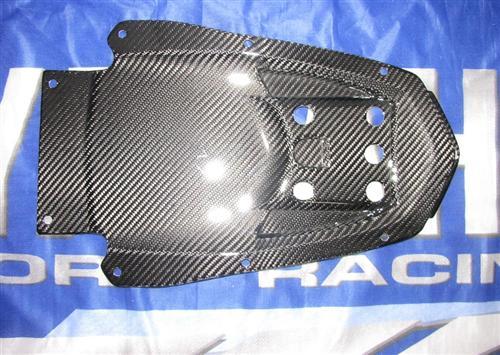 Passend für Yamaha Fazer FZ8 2011 RN25 ECHT Carbon Heck Unter-Verkleidung