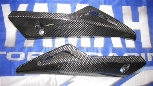Passend für Yamaha Fazer FZ8 2011 RN25 ECHT Carbon Bug Verkleidung