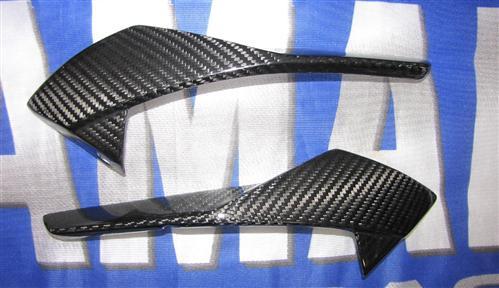 Passend für Yamaha Fazer FZ8 2011 RN25 ECHT Carbon Scheinwerfer Seitenteile