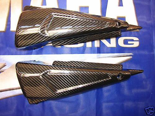 Für Yamaha Fazer FZS 1000 01-05  Carbon Seiten Verkleidung