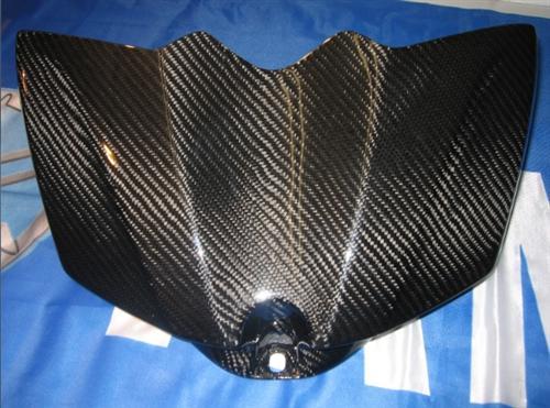 Passend für Yamaha YZF R1 RN19 2007 Echt Carbon Tank Abdeckung ****