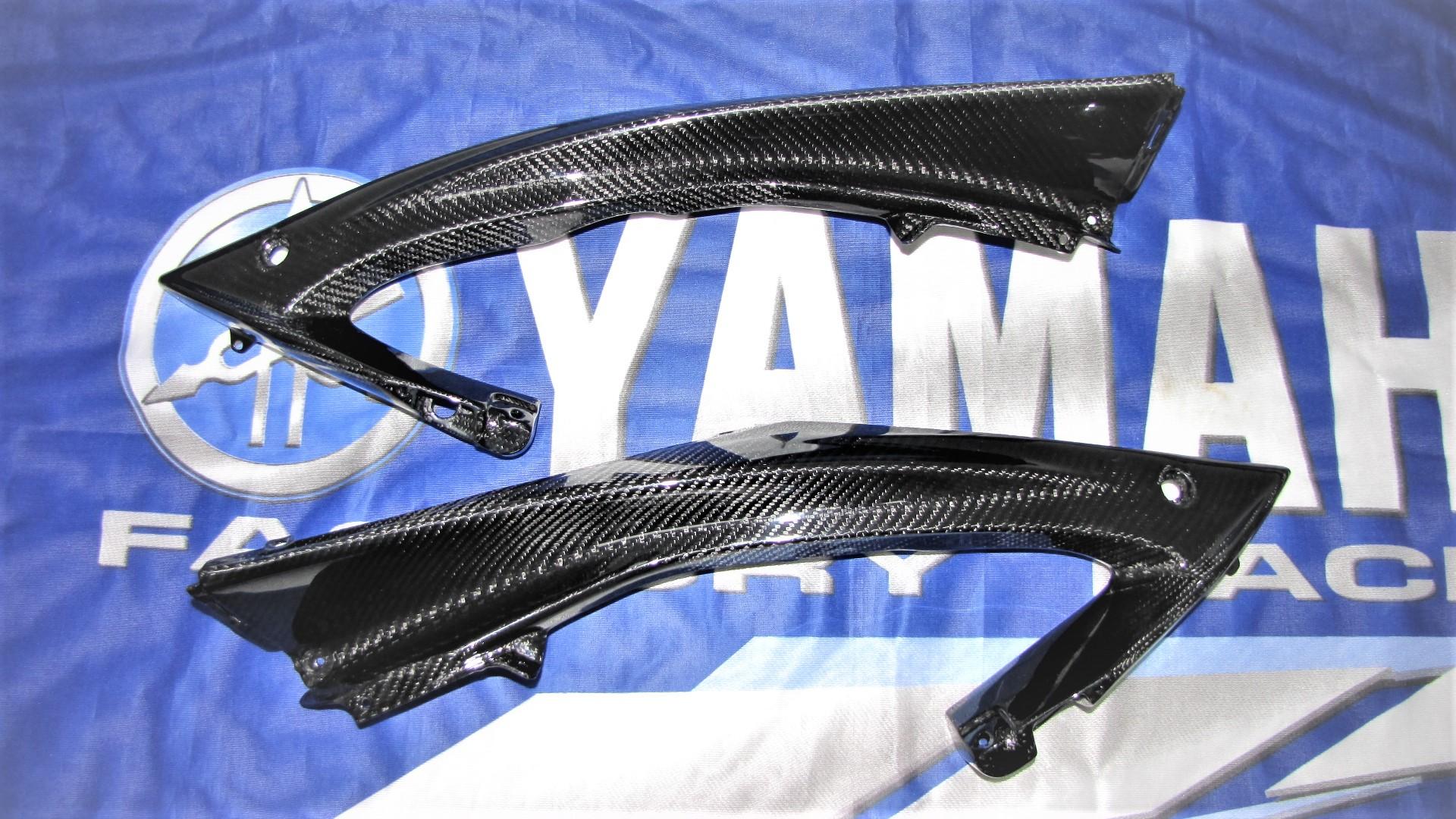 Passend für Yamaha YZF R6 RJ15 2008-09 Rahmen Verkleidung Seitenten