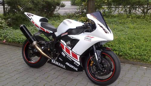 Für Yamaha RN12 RN19 RJ11 R6 Aufkleber-Set Rossi 50TH 09