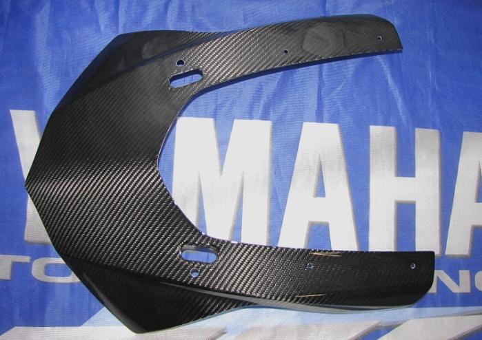 Passend für Yamaha RN32 R1 2015 Echt Carbon Maske Kanzel Front