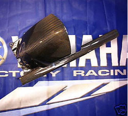 Passend für Yamaha TDM 900 2002-2009 Echt Carbon Hinterradabdeckung